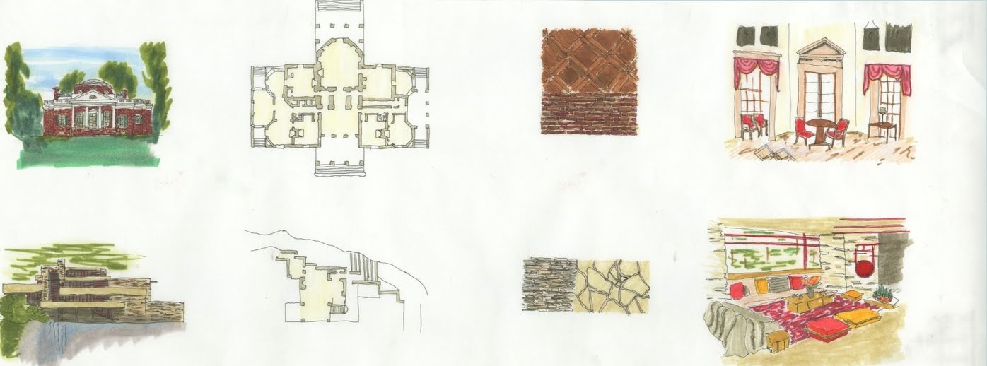 Sketches and Renderings from Class jacklooksaround